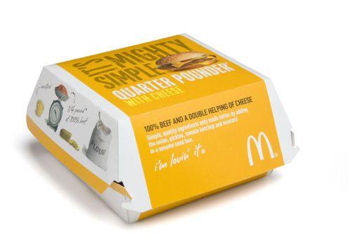 جعبه همبرگر مک دونالدی